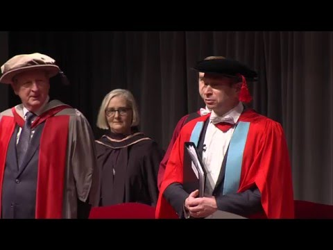 Winter Graduation 2016: Ceremony 1, 9.30am Friday 22 January [HD]