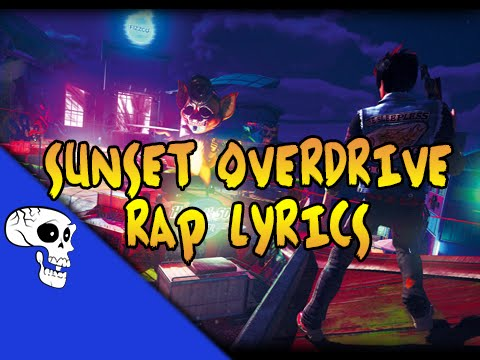 """Sunset Overdrive Rap LYRIC VIDEO by JT Music – """"I'm in Overdrive"""""""