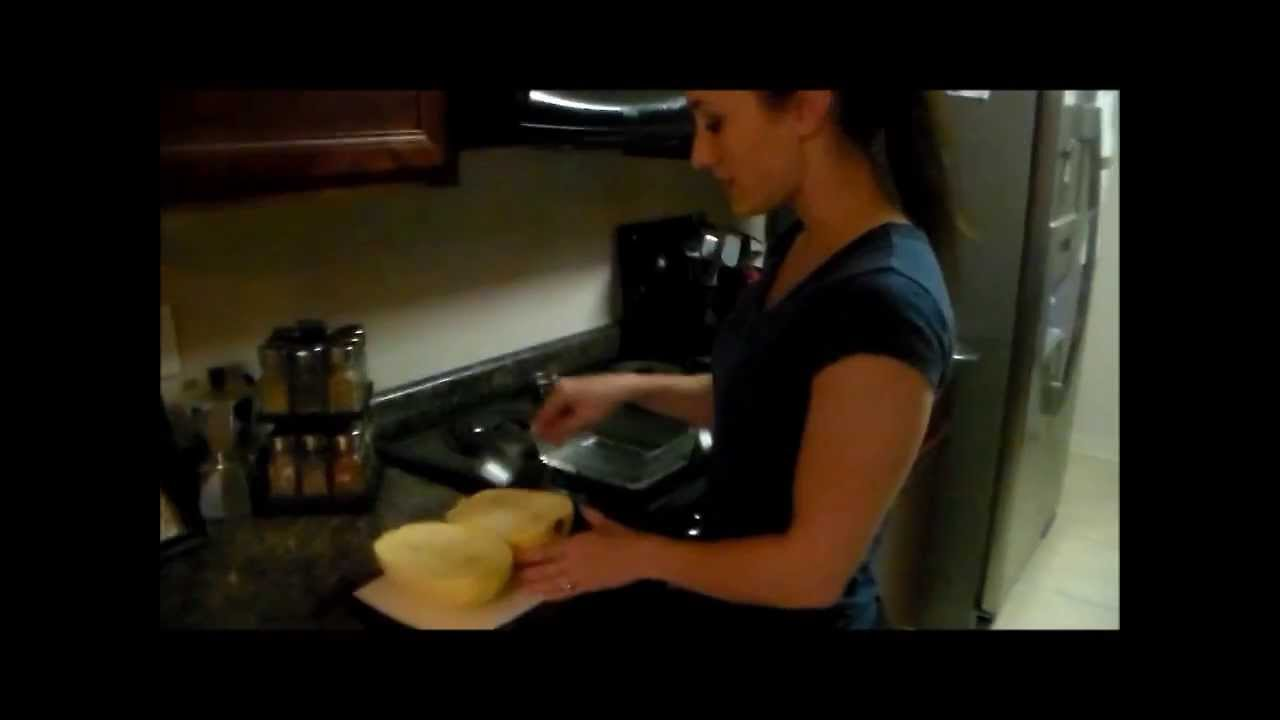 how to cook spaghetti squash in the microwave youtube
