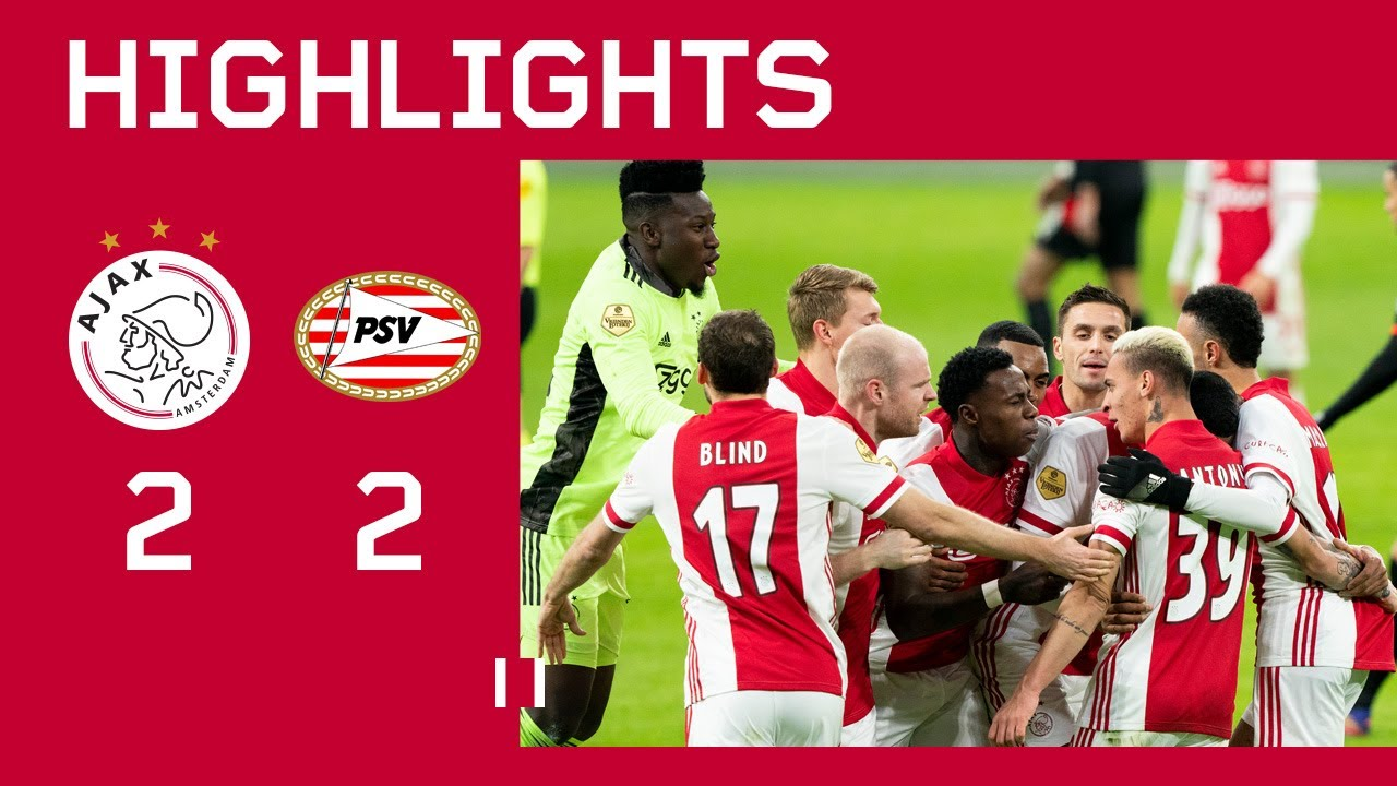 highlights ajax psv eredivisie debut haller
