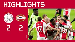Highlights | Ajax - PSV | Eredivisie | DEBUT HALLER