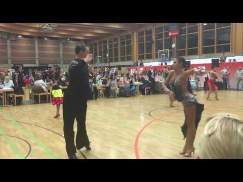 Kohlmayer Noah - Tayel Yuliya, AUT| Franken Dance Festival 2016| Finale Samba