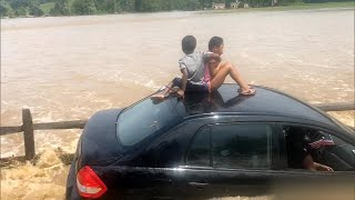 Hero Dad Saves Family From Flood in Pennsylvania