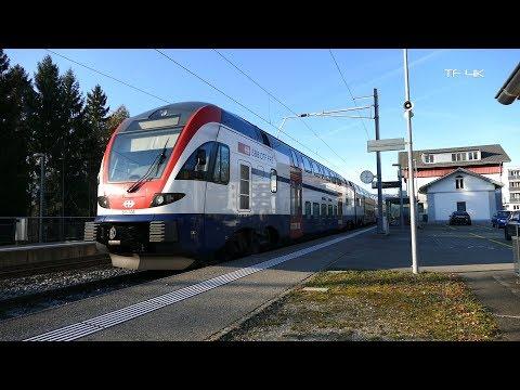Station Schinznach Bad + Bü - 4K