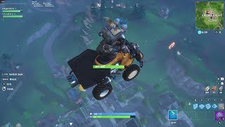 Fortnite Glitch: Quadcrasher Teleporting to Rift location from anywhere.