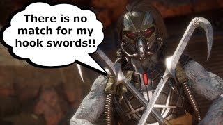 Mortal Kombat 11 - Characters Compare Their Weapons & Special Abilities