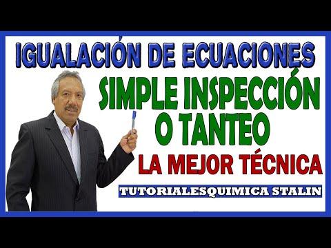 IGUALACION DE REACCIONES METODO FACIL Y SENCILLO from YouTube · Duration:  4 minutes 58 seconds