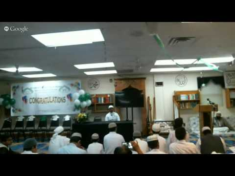 Annual Graduation With Shaykh Hamzah wald Maqbul, Shaykh Tameem Ahmadi, and Shaykh Hasan Abu Nar
