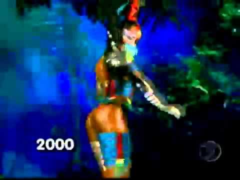 Globeleza: Confira todos os clipes da musa do carnaval (1993-2011)