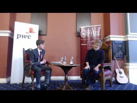 Glen Hansard Speaks To The Phil | TCDPhil