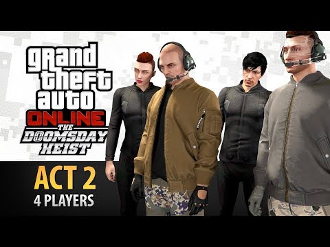 GTA Online: Doomsday Heist Act #2 with 4 Players (Elite & Criminal Mastermind IV)