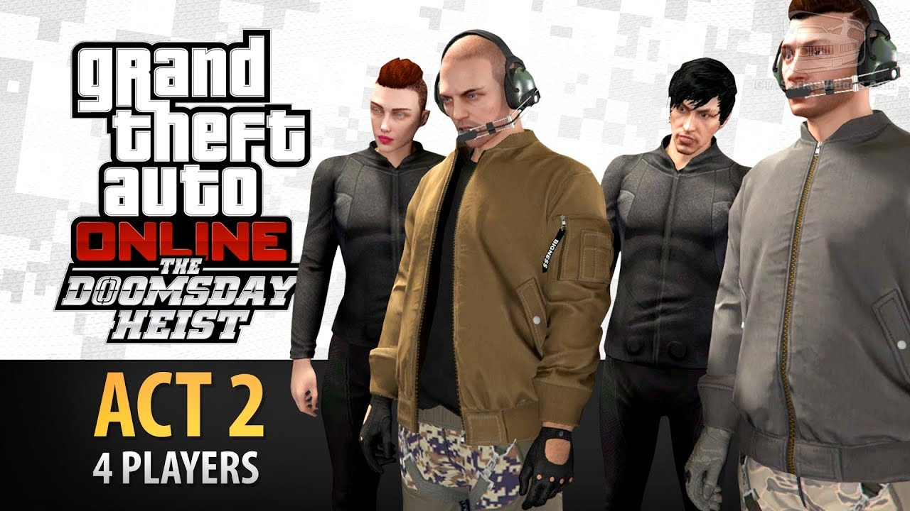 Download GTA Online: Doomsday Heist Act #2 with 4 Players (Elite & Criminal Mastermind IV)