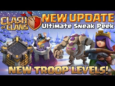 Clash of Clans NEW Update December 2016 - Ultimate Sneak Peek