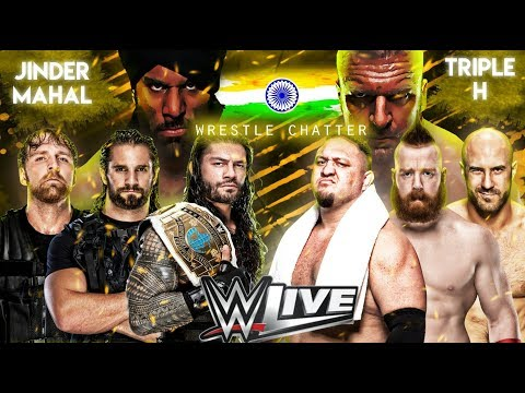 WWE Live India 2017 Highlights Matches | 9/12/2017 The Shield Match | 9 December 2017
