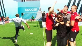 Paul Merson vs Ian Broudie | Soccer AM Pro AM