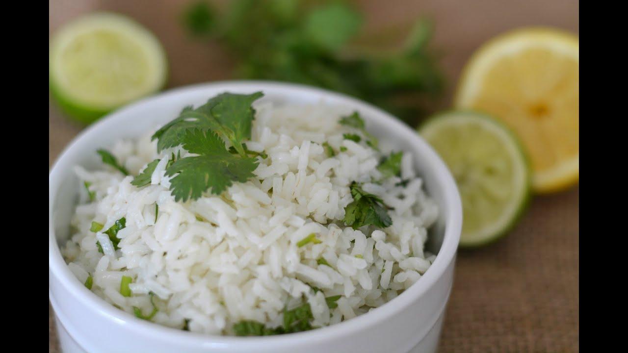 Receta de arroz con cilantro c mo hacer arroz con - Arroz con verduras y costillas ...