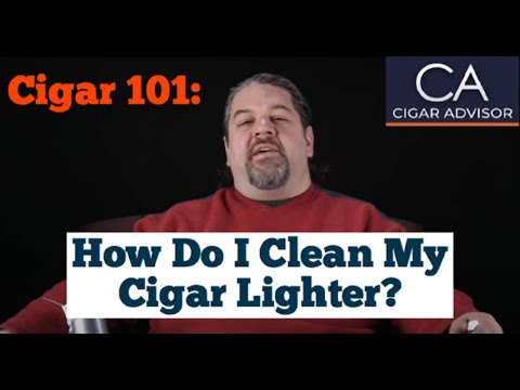 How Do I Clean My Cigar Lighter? - Cigar 101