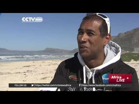 South African swimmer Achmat Hassiem eyes Rio success - YouTube