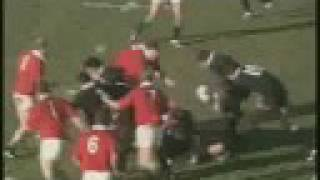 Underwood Try, British & Irish Lions Vs All Blacks 1993