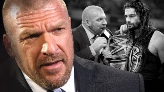 Triple H fires back at Roman Reigns' refusal to take a hand out: WWE.com Exclusive, Nov. 11, 2015