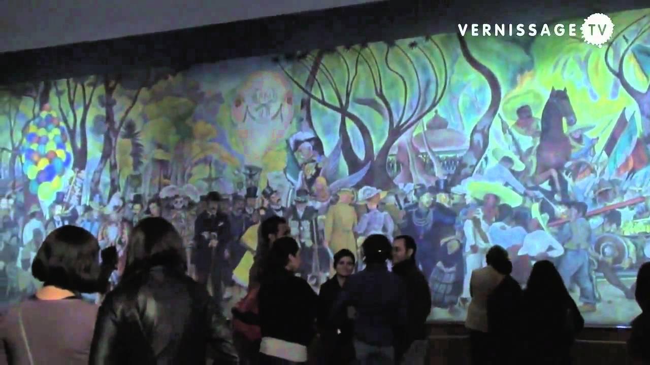 Dialecticas Del Paisaje Urbano At Museo Mural Diego Rivera M Youtube