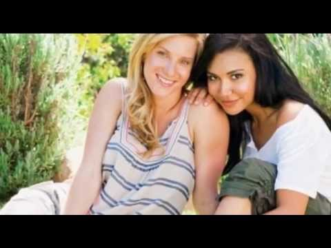 Brittany and Santana LOVE