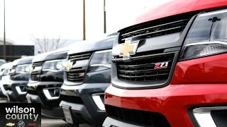 2015 Chevrolet Colorado Dealer Headquarters Wilson County Chevrolet Lebanon, TN 855-507-8520