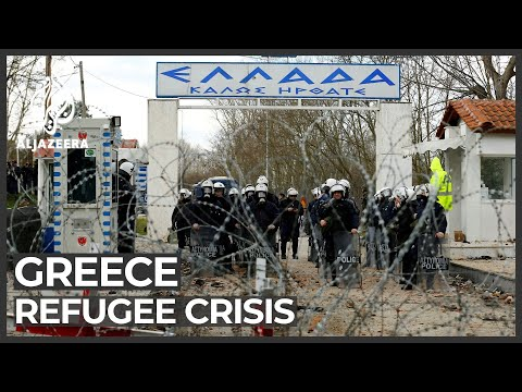 Greece on the defensive as Turkey opens border to refugees