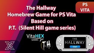 The Hallway Homebrew Game for PS Vita / PSTV |  Based on P.T.  (Silent Hill game series)