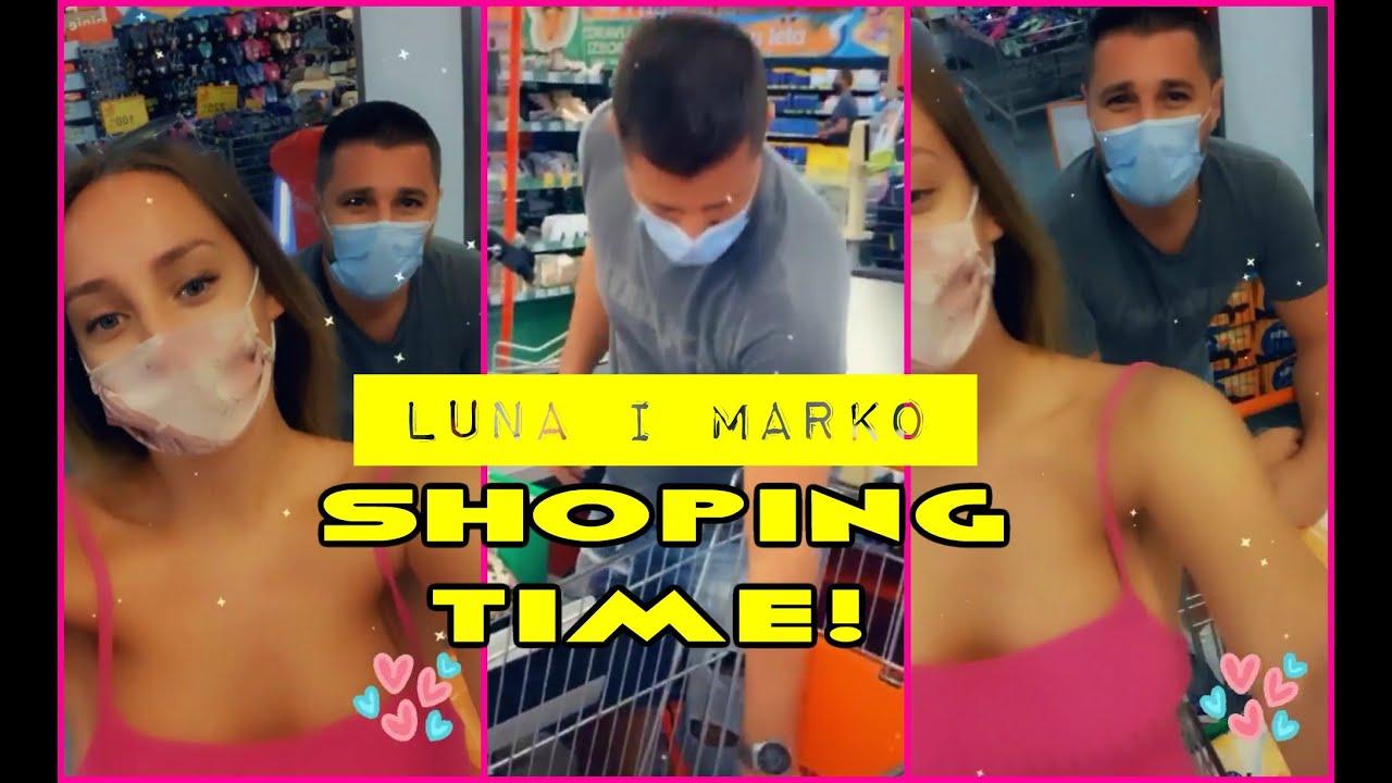 Luna i Marko u šopingu! #lunaimarko #marko #zadruga #ljubav