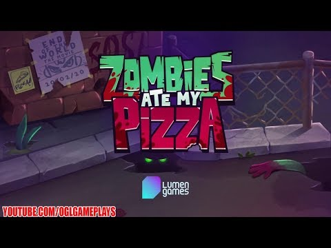 Kids Vs Zombies Zombies Ate My Pizza Android Ios Gameplay By Lumen Games