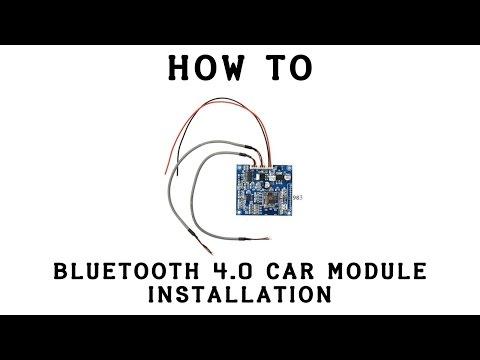 Bluetooth Car Module Installation (Part 1)