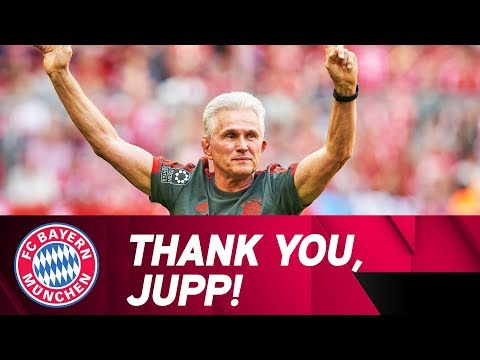 Thank you, Jupp! FC Bayern pay tribute to a true legend