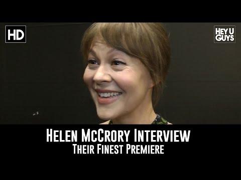 Helen McCrory Premiere   Their Finest