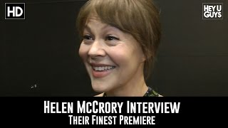 Helen McCrory Premiere Interview - Their Finest