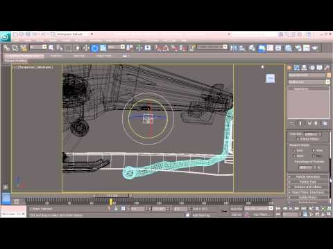 73  Creating particles in 3ds Max