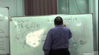 ویدئو آموزشی درس نظریه میدان های كوانتومی ١ دانشگاه شریف