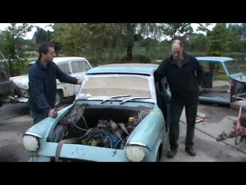 Ford Anglia v8 first time running