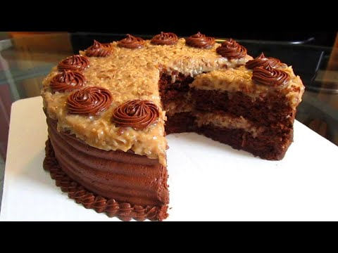 How to make a German Chocolate Cake from scratch.