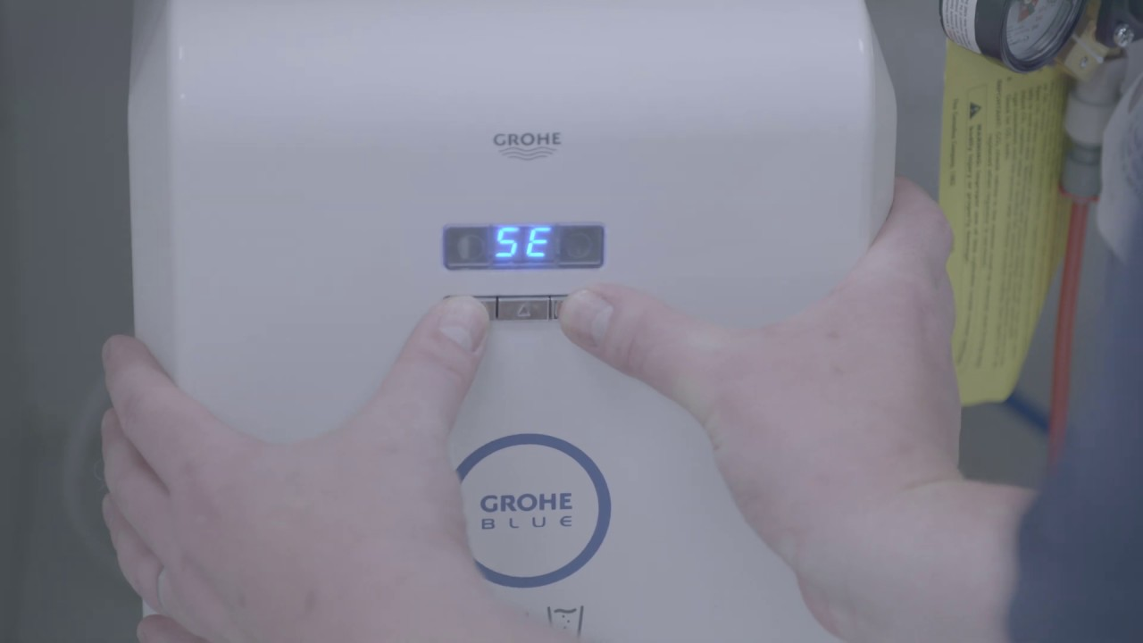 grohe grohe blue handle calibration installation video