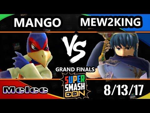 Smash Con 2017 SSBM - FOX MVG   Mew2King (Marth) Vs. C9   Mang0 (Falco) Smash Melee GF