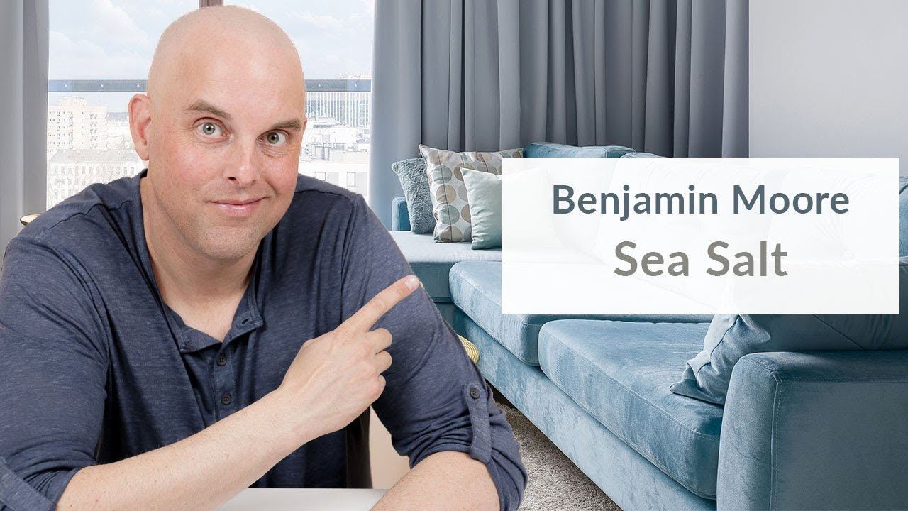 Benjamin Moore Sea Salt Color Review