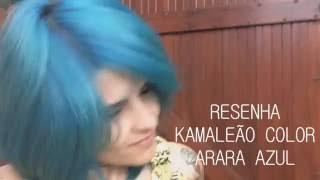 Kamaleão Color Arara Azul ♥ Diário de Cabelo Colorido ♥ #resenha