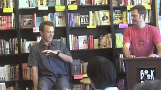 """crafting my main character"" -- Phil Brody Author Event at Book Soup"