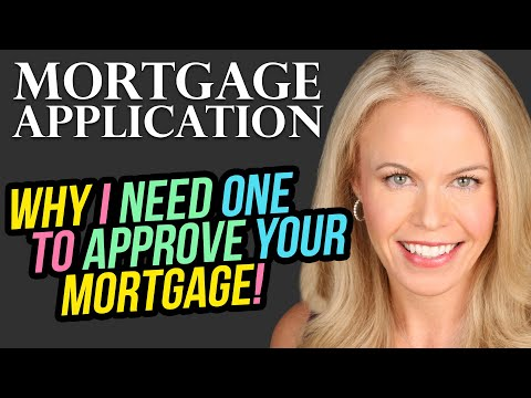 Why I need an actual application to approve you for a mortgage