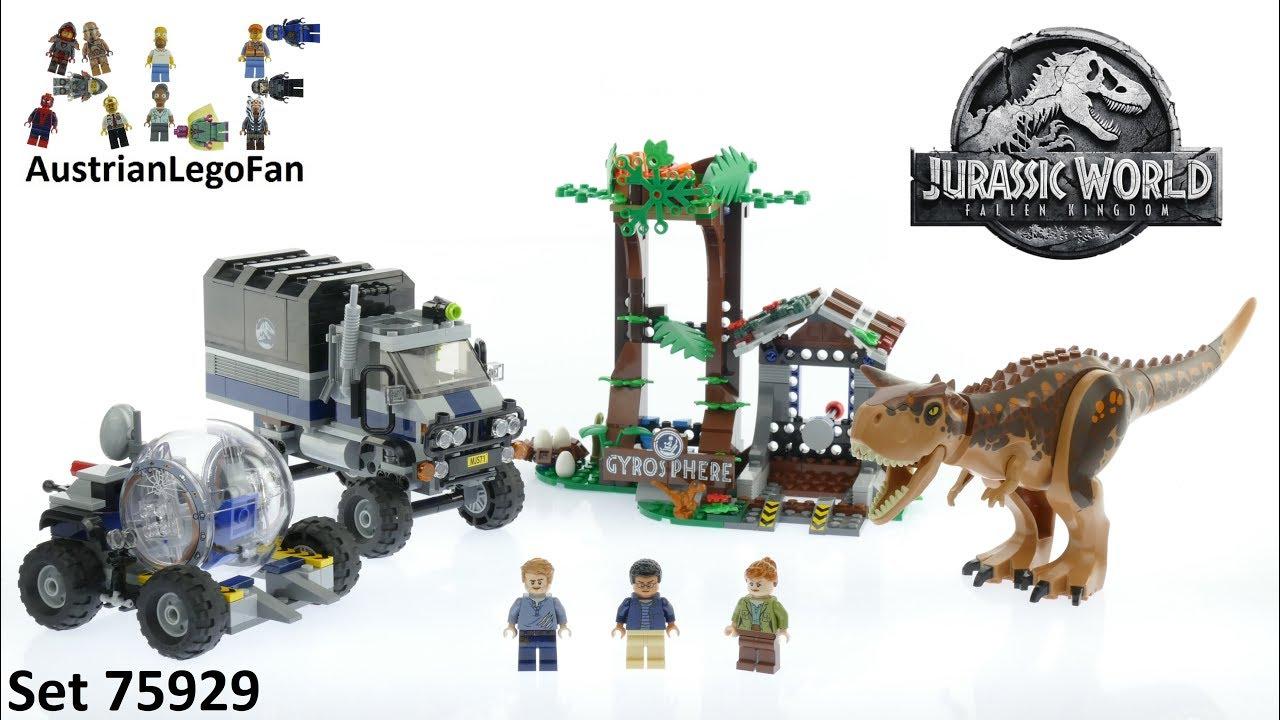Carnotaurus Gyrosphere Escape LEGO Brand New LEGO-75929