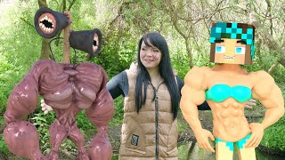 Top 5 Real Life : Siren Head vs Alex - Minecraft Animation