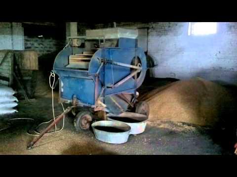 Зерноочистительная машина (Калибровка семян)