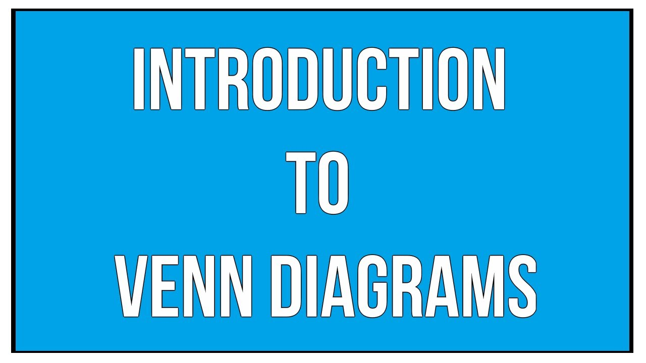 Introduction to venn diagrams union of sets and intersection of introduction to venn diagrams union of sets and intersection of sets maths algebra pooptronica Gallery