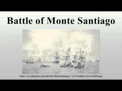 Battle of Monte Santiago